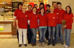 Seit 2010 arbeiten 5 ehemalige Mitarbeiter der LW im Integrationsbetrieb CAP-Markt Cottbus.