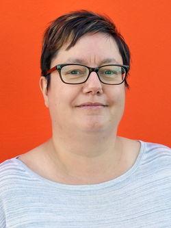 Diana Paetzel (Stellvertretende Frauenbeauftragte und Sprecherin der Werkstatt Cottbus Mitte); Werkstatt Cottbus Mitte