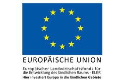 Gefördert mit EU-Mitteln durch den europäischen Landwirtschaftsfonds für die Entwicklung des ländlichen Raums (ELER).