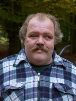 Dennis Wunderlich. Mitglied des Werkstattrats.