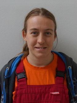 Bianca Sonnenburg. Mitglied des Werkstattrats.