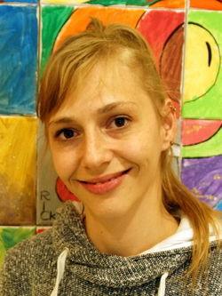 Michele Wonn (Stellvertretende Frauenbeauftragte und Sprecherin der Werkstatt Cottbus Mitte); Werkstatt Cottbus Mitte