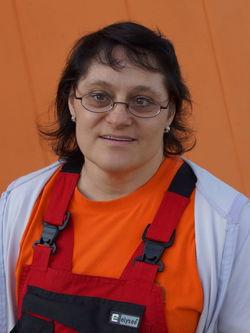 Anke Protzmann. Sprecher des Werkstattrats.
