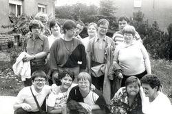 1992, Ausflug zum Goyatzer See.