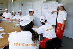 Berufliche Bildung im Catering.
