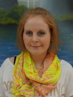 Stefanie Kühn. Mitglied des Werkstattrats.