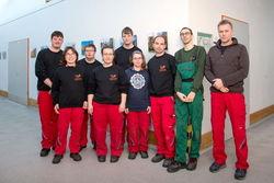 Mitarbeiter und Gruppenleiter des Service-Teams am Ostrower Damm.