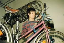 Die Fahrradwerkstatt in der Ringstraße 1992.