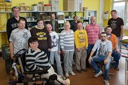 Das Team der Druckerei.